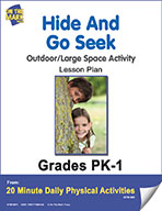 Hide And Go Seek Lesson Plan (eLesson eBook)