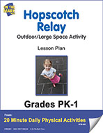 Hopscotch Relay Lesson Plan (eLesson eBook)