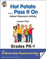 Hot Potato.. Pass It On Lesson Plan (eLesson eBook)