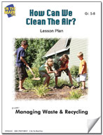 How Can We Clean the Air?  Lesson Plan