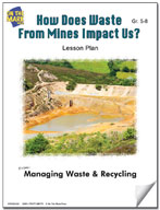 How Does Waste from Mines Impact Us?  Lesson Plan