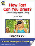 How Fast Can You Dress? Lesson Plan (eLesson eBook)