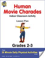 Human Movie Charades Lesson Plan (eLesson eBook)