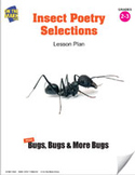 Insect Poetry Selections Lesson Plan