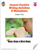 Insects Creative Writing Activities and Worksheets Lesson Plan