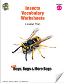 Insects Vocabulary Worksheets Lesson Plan