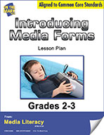 Introducing Media Forms Lesson Plan (eBook)