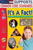 It's A Fact! Non-Fiction Reading Comprehension (Grades 4-6) (Enhanced eBook)