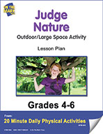 Judge Nature Says Lesson Plan (eLesson eBook)