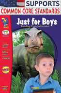 Just for Boys Reading Comprehension Gr. 1-3