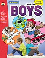 Just for Boys Reading Comprehension Gr. 1-3 Aligned to Com