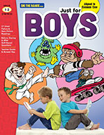Just for Boys Reading Comprehension Gr. 1-3 Aligned to Common Core (eBook)