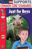 Just for Boys Reading Comprehension Gr. 1-3 (Enhanced eBook)