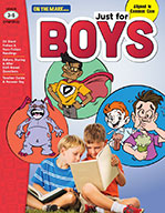Just for Boys Reading Comprehension Gr. 3-6 Aligned to Common Core (eBook)