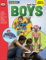 Just for Boys Reading Comprehension Gr. 6-8 Aligned to Com