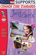 Just for Girls Reading Comprehension Gr. 3-6 (Enhanced eBook)