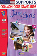 Just for Girls Reading Comprehension Gr. 3-6 (Enhanced eBook)