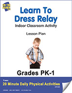 Learn To Dress Relay Lesson Plan (eLesson eBook)