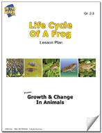 Life Cycle of a Frog Lesson Plan