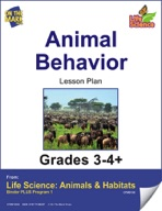 Life Science Animals & Habitats - Animal Behavior e-lesson plan