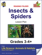 Life Science Animals & Habitats - Reading Folder - Birds & Fish