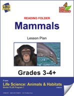 Life Science Animals & Habitats - Reading Folder - Insects & Spiders