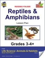Life Science Animals & Habitats - Reading Folder - Mammals