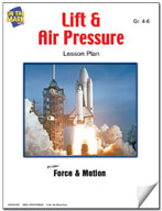 Lift and Air Pressure Lesson Plan