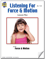 Listening for Force and Motion Lesson Plan