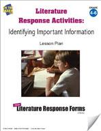 Literature Response Activities: Identifying Important Information Grades 4-6