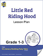 Little Red Riding Hood Aligned to Common Core Gr. 1-3 (elesson plan)