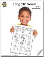 "Long ""I"" Vowel Lesson Plan K-1"