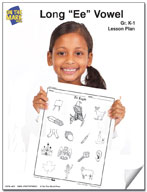 "Long ""e"" Vowel Lesson Plan K-1"