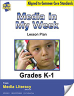 Media in My Week Survey Lesson Plan (eBook)