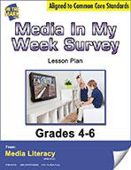 Media in My Week Survey Lesson Plan (eBook)