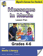 Messages in Media Lesson Plan (eBook)