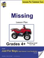 Missing (Fiction - Narrative Mystery) Grade Level 1.8 Aligned to Common Core e-lesson plan