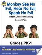 Monkey See No Evil, Hear No Evil, Speak No Evil Lesson Plan (eLesson eBook)