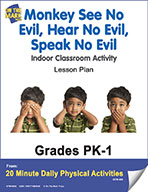 Monkey See No Evil, Hear No Evil, Speak No Evil Lesson Plan (eLesson eBook)