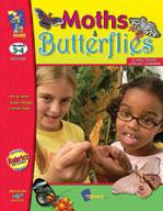 Moths and Butterflies (Grades 3-4) [Enhanced eBook]