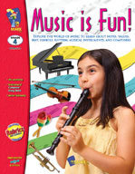Music Is Fun! (Grade 4) (Enhanced eBook)