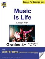 Music is Life (Non-Fiction - Report) Grade Level 2.3 Align