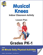 Musical Knees Lesson Plan (eLesson eBook)