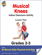 Musical Knees Lesson Plan (eLesson eBook)