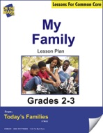 My Family (Reproducible Student Booklet) Gr. 2-3 Aligned to Common Core e-lesson plan