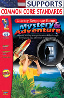 Mystery and Adventure Response Forms: Grades 4-6 (Enhanced eBook)