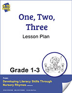 One, Two, Three Lesson Plan