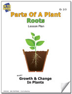 Parts of a Plant - Roots Lesson Plan