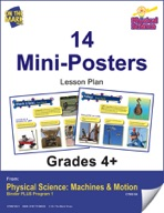Physical Science - 14 Mini-Posters
