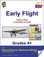 Physical Science - Early Flight e-lesson plan & Reading Folder